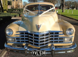 1940s Cadillac Sedan wedding car in Chelmsford
